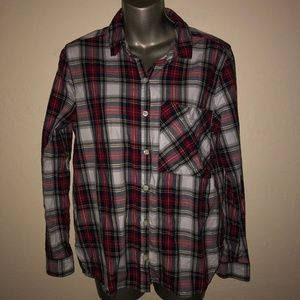 Women's Forever 21 Plaid button down